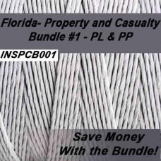 Florida: 200 hr Property and Casualty Pre-Licensing Course plus Pass Prep (Cram course) - Bundle #1